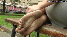 If you are into sexy teenaged feet you should watch this girl